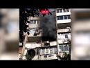 Соседи тушили ведрами пожар в квартире в Краснодаре