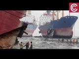 Кладбище кораблей в Бангладеш