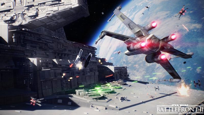 Star Wars Battlefront 2 официальный трейлер «Битвы звездных истребителей»