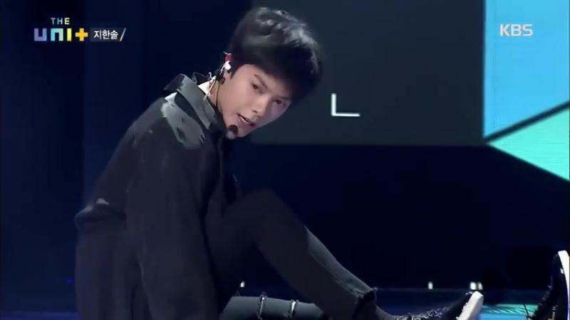 더 유닛 The Unit (Ji Han Sol) - SM 루키즈 출신 지한솔! 선곡은 무려 태민의 'Good Bye'.