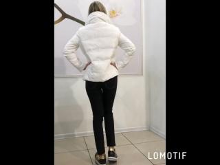 Куртка белая весна 2018