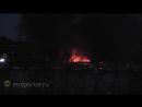 Шесть бытовок сгорели на 107 км МКАД