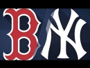 Condensed Game׃ BOS@NYY 8⁄31⁄17