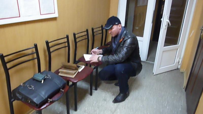 22.02.18 отдел полиции Центрального округа УМВД РФ г.Кранодара 22ч.31м.