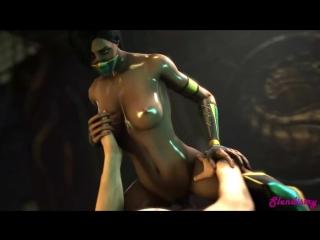 Секс с джейд из мортал комбат