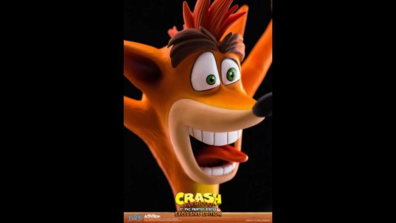 Merchandise - Crash Bandicoot Statue Portfolio