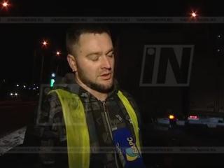 Интервью с водителем фуры о которую разбилась машина такси