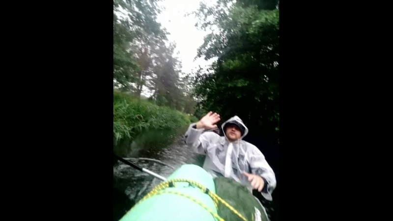 Сплав по реке Rinda - Irbe - в Балтийское море