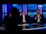 Rio and Scholes reaction to that De Gea save