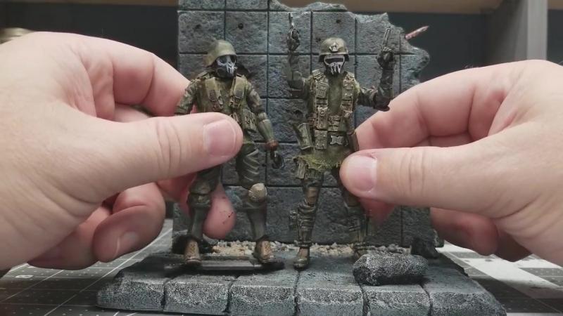 Marine infantry custom marauder style custom action figure