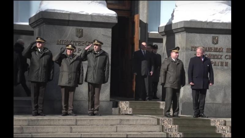 Міністри оборони України та Королівства Швеція обговорили перспективи співробітництва