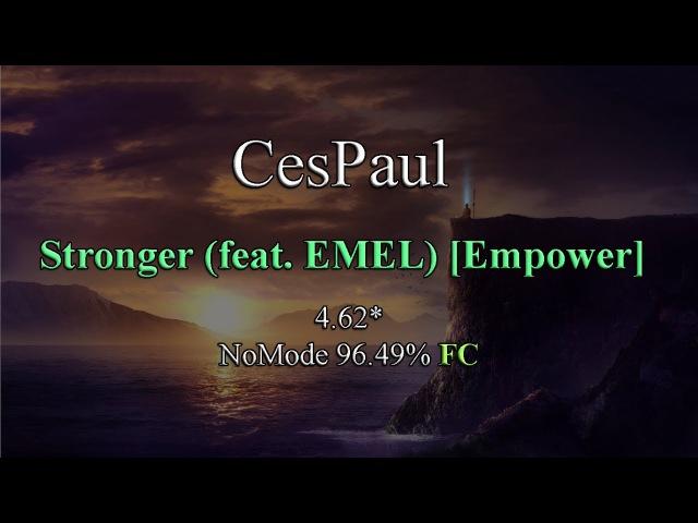 OSU! - Stonebank - Stronger (feat. EMEL) [Empower]