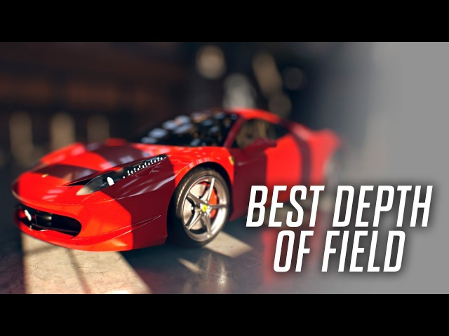 The Best Way to Add Depth of Field to Your Renders (C4D AE)