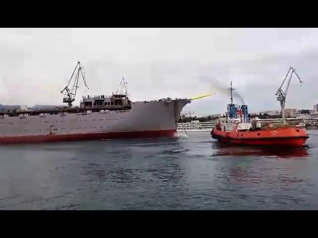 Split U škveru svečano porinut najveći jedrenjak na svijetu