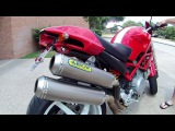 Arrow Pro-Racing Titanium full exhaust - Ducati Monster S2R 800 - idle, revs, test ride