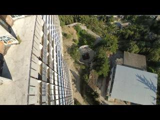 без обработки Крым - Алушта  -  заброшенная гостиница