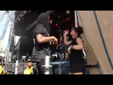 New Waka Flocka Flame And Deaf Woman At Firefly Music Festival