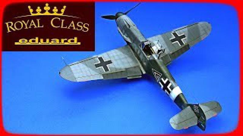 FULL VIDEO BUILD Bf 109F4 MESSERSCHMITT - EDUARD ROYAL CLASS