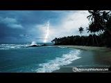 Rain, Thunder &amp Ocean Sounds White Noise for Sleep or Studying 10 Hours