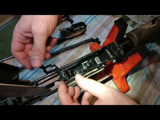 Условная замена УСМ с фиксатором осей Теккера К от оружейной компании РТМ