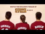 Trailer Launch on 2nd of August - Student Of The Year