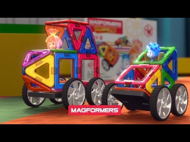 Фиксики Magformers Fixie Wow Set
