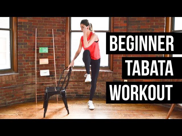 Beginner Tabata Workout - Full Body, No Equipment Needed