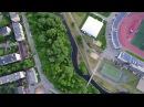 Путешествие по Лососинке вверх по порогам через Петрозаводск 4K видео