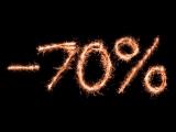 С 25 ноября по 25 декабря дарим скидку 70% на каждый второй товар в чеке!