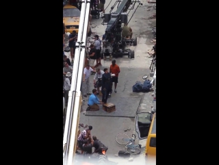 BC Stunt double in Atlanta (Doctor Strange filming)