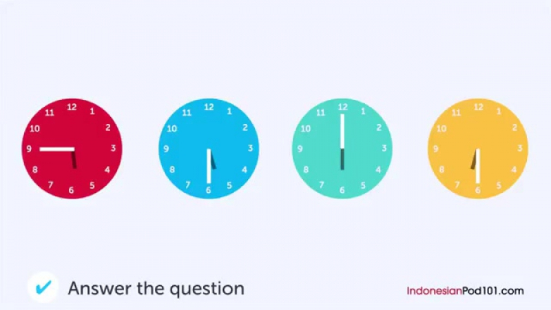 Indonesian Listening Practice - Calling the Indonesian Doctors Office