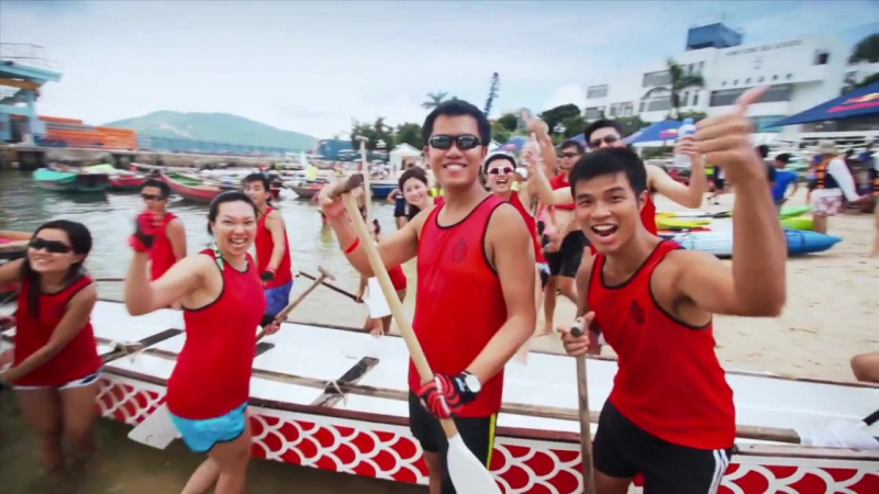 Red Bull Hong Kong Dragon Boat Competition - The Dragon Roar!