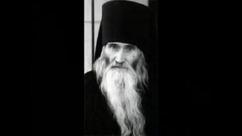 52 - Старец Илий. За родником белый храм.