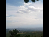 Вид на гору Машук с Бештау