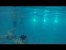 Уроки плавания с Рыжей