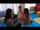 День рождения Алисы 4года