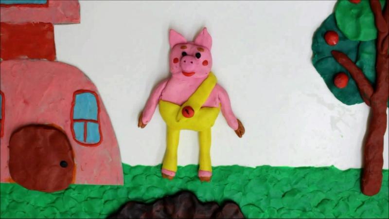 Мультфильм Свинка-копилка (Студия детской мультипликации Интерес)