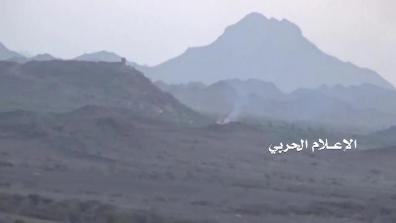 Хуситы уничтожили MRAP Caiman южан в районе базы Халид. Таиз.