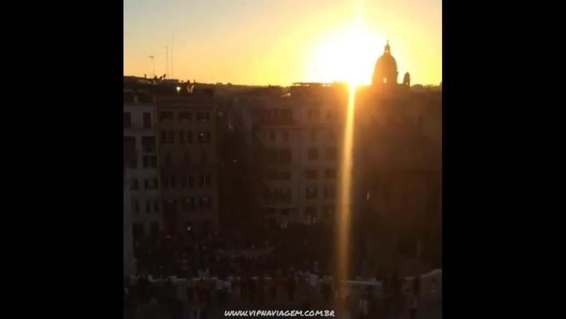 Um maravilhoso fim de tarde em Roma www.vipnaviage... Рим 11.10.2017
