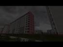 Припять в майнкрафт  Pripyat in minecraft
