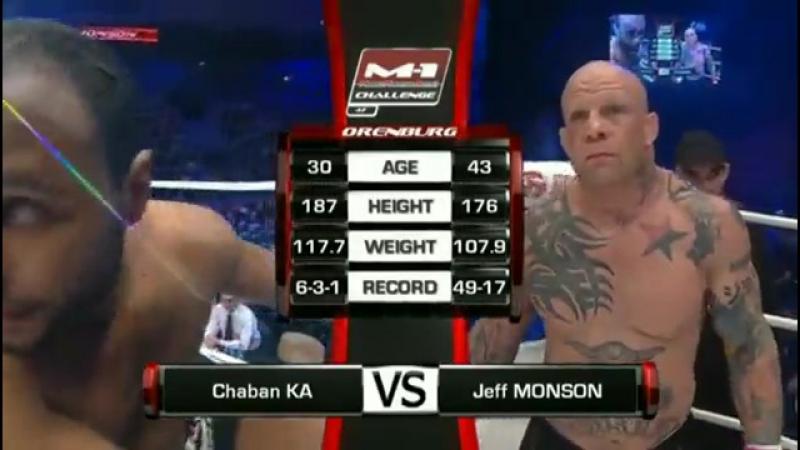 Джефф Монсон против Шабана Ка