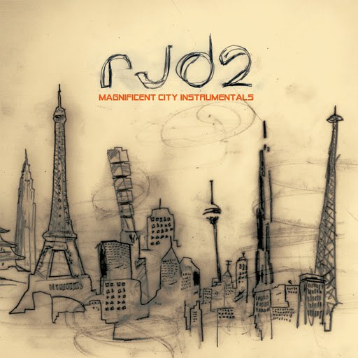 RJD2 альбом Magnificent City Instrumentals