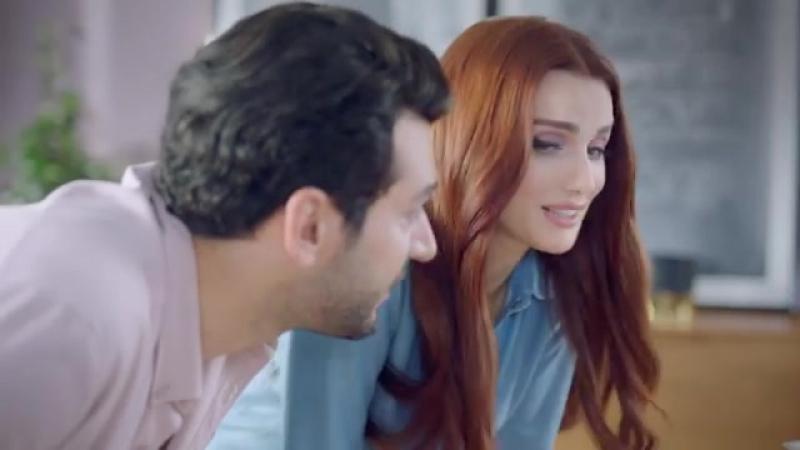 Мурат и Имани Йылдырым в рекламе