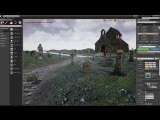 Speed Level Design - Raven Hill Cemetery - Unreal Engine 4_HIGH.mp4