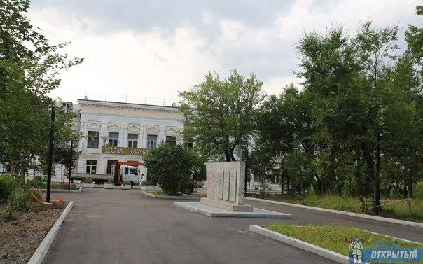 Пять скверов появится в Хабаровске в этом году