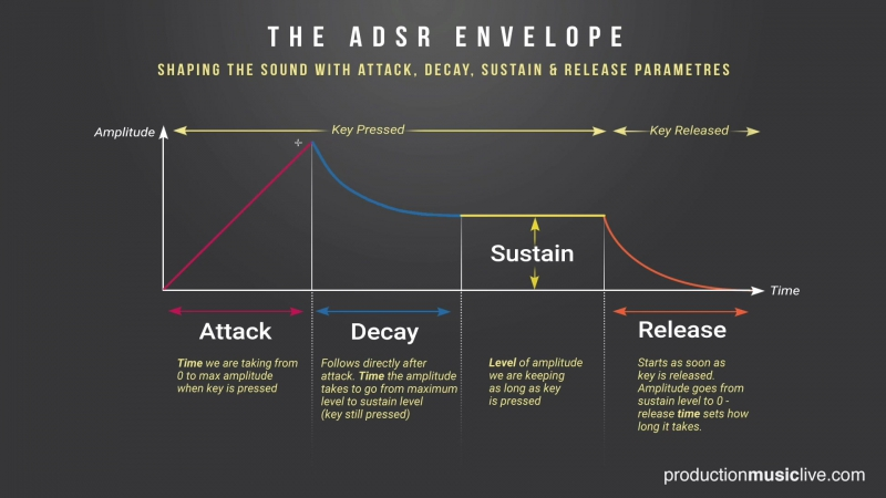 How To Use The ADSR Envelope Black Friday 50% on Production Courses at PML