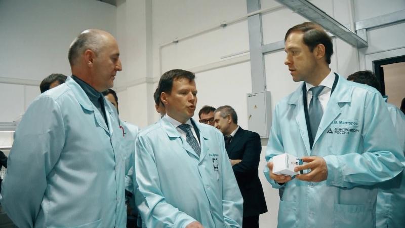 Представляем вашему вниманию короткое видео, посвященное промышленной сфере Ингушетии.