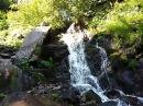 Горный водопад. Верховина Карпаты