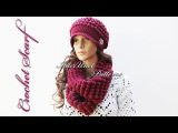 Scarf crochet tutorial for beginners - scarf to match with my crochet hat