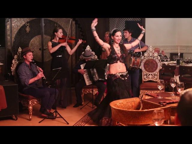 Moscow Klezmer Band - Gipsy Tribal Fusion dance